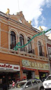 Originalmente el Palacio Municipal se albergó en el edificio ubicado en Rafael Lucio número 19
