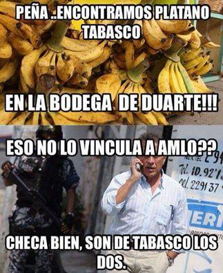 Plátano Tabasco.