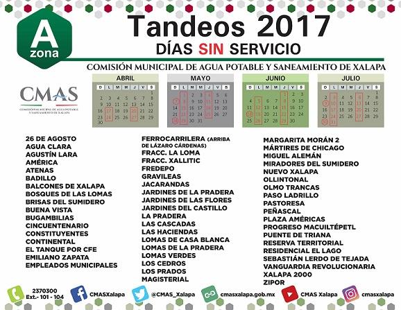 CMAS_XALAPA TANDEOS FINAL ZONA A