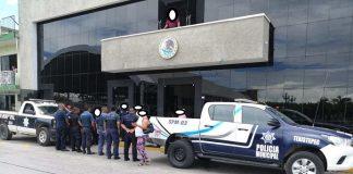 Policía de Texistepec